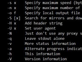 Axel:轻量级多线程下载工具