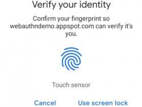 Chrome将支持Android和Mac上指纹辨识功能