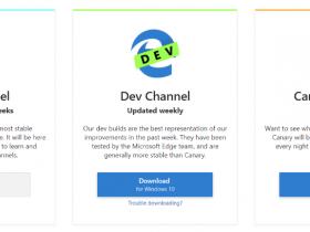 微软正式释出基于 Chromium 的 Edge 预览版本
