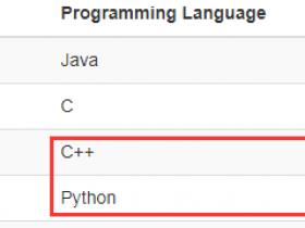 5月语言排行榜:R 跌出前二十,Python 紧咬 C++
