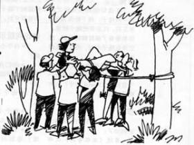公司团队拓展培训游戏:法柜奇兵