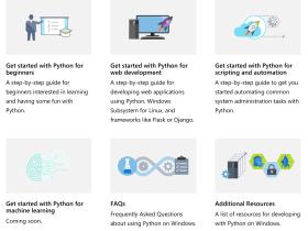 微软官方上线 Python 教程