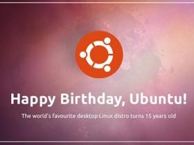 Ubuntu 15 周年!