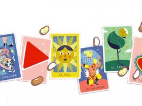 Google Doodle邀请用户玩墨西哥纸牌游戏Loteria