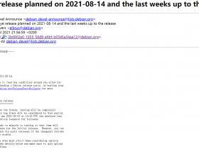 Debian 11 将于 8 月 14 日正式发布