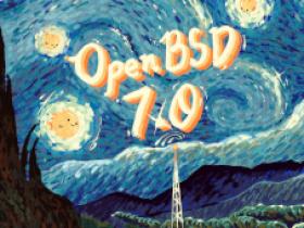 OpenBSD 7.0 发布,第 51 个 OpenBSD 版本