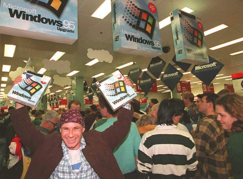 Windows 95 诞生 25 周年