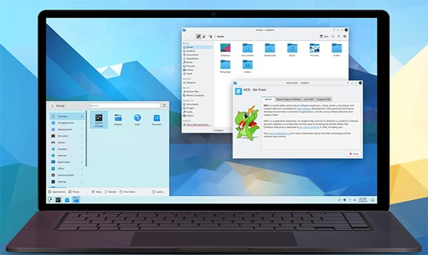 KDE Plasma 5.22 发布